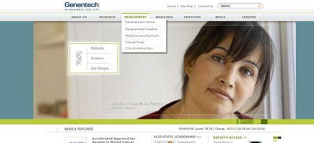 Pharma Web Branding, Part 11 – Genentech