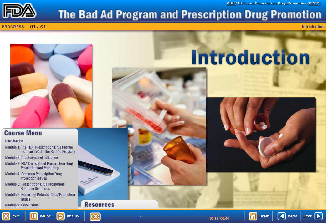 FDA Teaching Docs to Find Misleading Drug Promotions