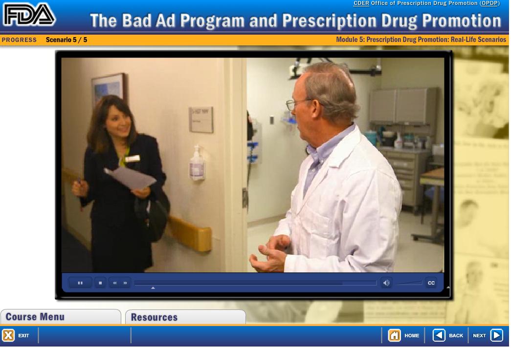 FDA Rep ecourse