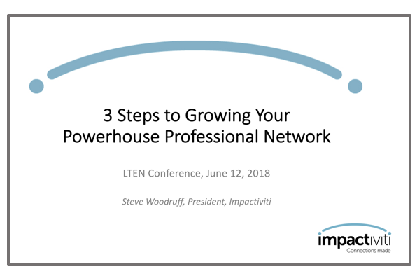 How to Network for Success